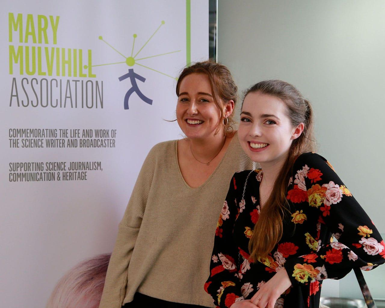 2019 Mary Mulvihill Award Winners Emily Sheridan and Laura Katharine Finnegan
